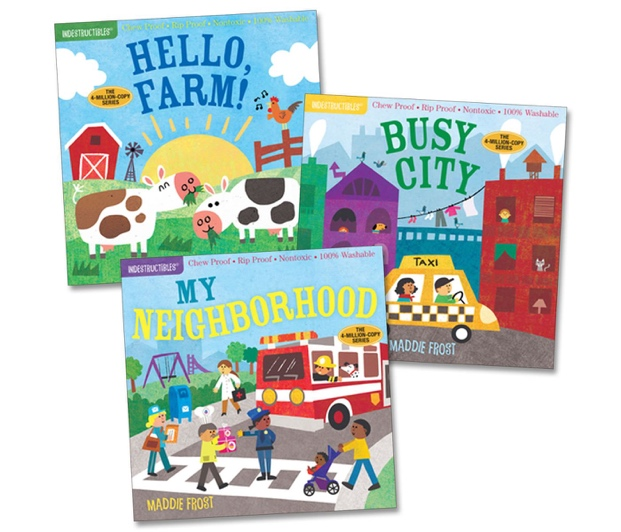 Workman Publishing Company Indestructibles Community Picture Books - Set of 3 - image 1 of 4